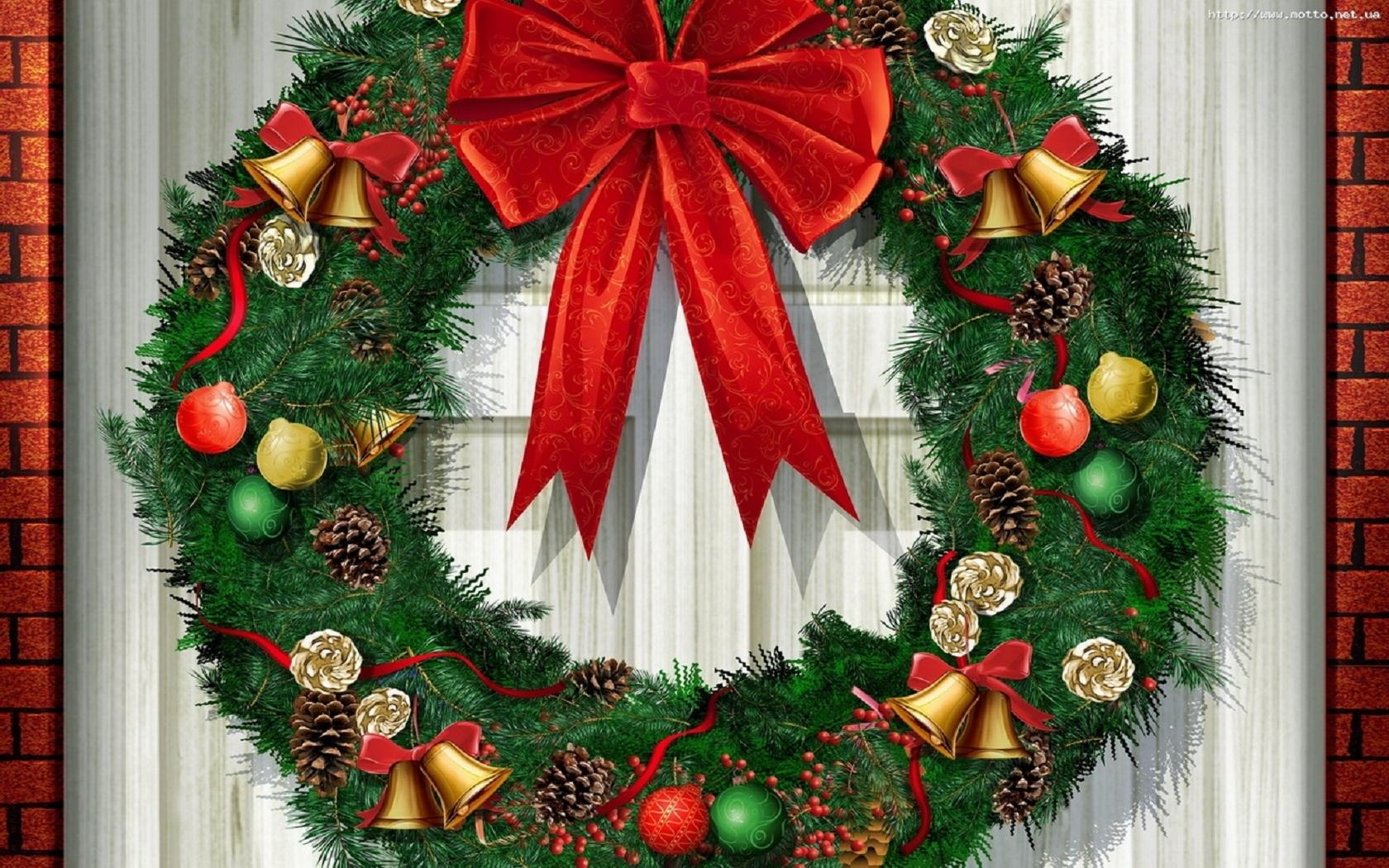 Puerta Decorada Natal
